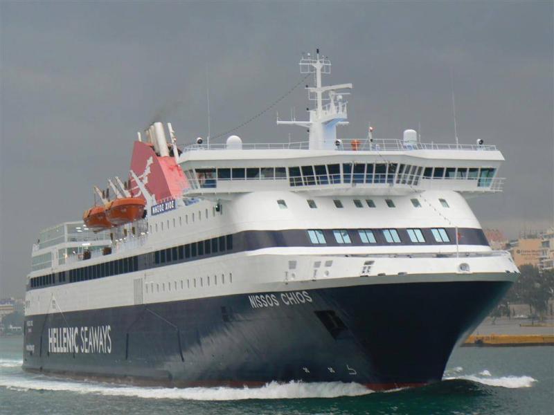 Aντικατάσταση του «Νήσος Μύκονος» με το πλοίο «Νήσος Χίος»