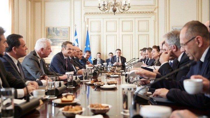 Υπουργικό Συμβούλιο: Εθνικό σχέδιο κυβερνητικής πολιτικής και πέντε νομοσχέδια