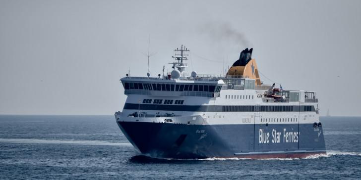 Απέπλευσε το BlueStar Myconos - Κανονικά η επιβίβαση επιβατών από τα ενδιάμεσα λιμάνια