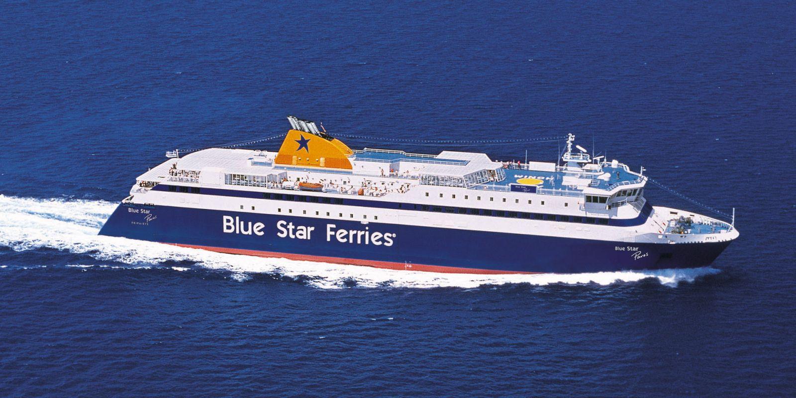 Τροποποίηση δρομολογίων των πλοίων της Blue Star Ferries