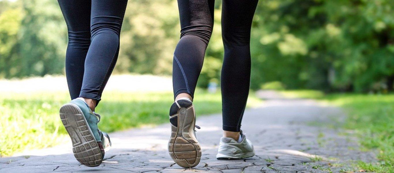 Περπάτημα: Πόσα βήματα πρέπει να κάνετε για να χάνετε μισό κιλό την εβδομάδα;