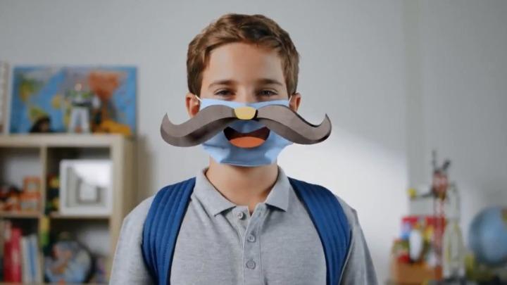 Νέα ενημερωτική καμπάνια της ΓΓ Πολιτικής Προστασίας: «Οι μάσκες που χαμογελούν όπως αυτοί που αγαπάς»