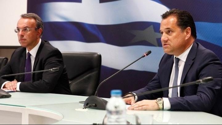 Στα 11 δισ. ευρώ η στήριξη της οικονομίας σε διάστημα 9 μηνών, δηλώνουν Χ.Σταϊκούρας-Α.Γεωργιάδης