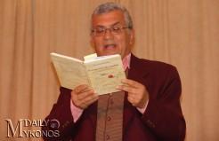 Το νέο βιβλίο του «Ασύνταχτα μένουν τα δύσκολα» παρουσιάζει απόψε ο Παναγιώτης Κουσαθανάς