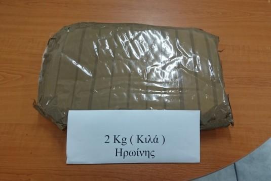 Σύλληψη αλλοδαπής για εισαγωγή μεγάλης ποσότητας ναρκωτικών στην Ελληνική επικράτεια
