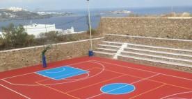 Ανοικτό γήπεδο μπάσκετ γυμνασίου: Έγινε σαν καινούριο