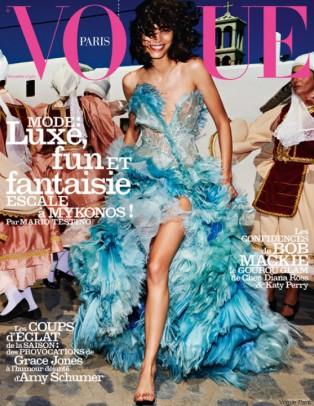 Το Mυκονιάτικο εξώφυλλο της Vogue που προκάλεσε σύγχυση στον κόσμο της μόδας