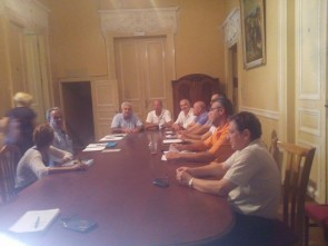 Συνάντηση γνωριμίας Λεονταρίτη με τους Προϊσταμένους των Διευθύνσεων της ΠΝΑ
