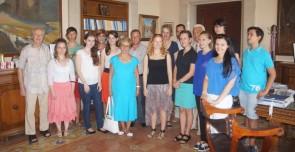 Αυστριακοί μαθητές που διακρίθηκαν στην Ολυμπιάδα Αρχαίας Ελληνικής Γλώσσας επισκέφθηκαν την Περιφέρεια Νοτίου Αιγαίου