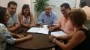 Συνάντηση Χατζημάρκου για τη λειτουργία του ΚΕΚ Γεννηματάς