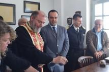 ΒΙΝΤΕΟ - Αγιασμός στα νέα γραφεία του Δημοτικού Λιμενικού Ταμείου