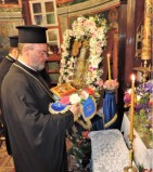 Το λείψανο του Αγίου Παναγή του Μπασιά στη Μύκονο