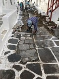 Άμεση αποκατάσταση του πλακόστρωτου μετά την ζημιά στην οδό Ενόπλων Δυνάμεων