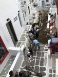 (Φωτο) Αποκαταστάσθηκε η βλάβη στο δίκτυο της ΔΕΥΑΜ επί της οδού Ενόπλων Δυνάμεων