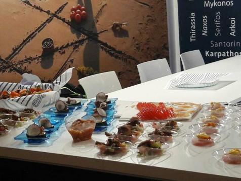 Το Νότιο Αιγαίο διεθνή στην έκθεση τροφίμων και γαστρονομίας Tutto Food στο Μιλάνο