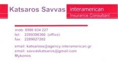 KATSAROS SAVVAS INSURANCE CONSULTANT