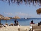 Ornos beach - Ορνός